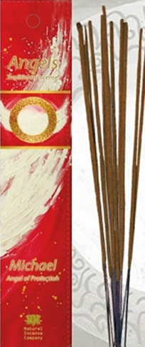 Angels Incense: Michael - Angel of Protection - Traditional Incense Sticks by The Natural Incense Co