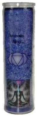 Chakra Aromatic Jar Candle - 6th Chakra (Third Eye / Brow) - Anja - Indigo -