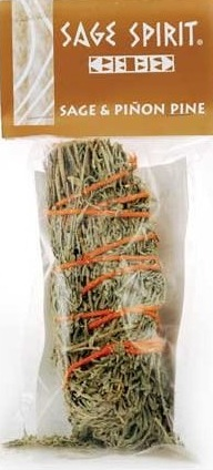 "Sage & Pinon Pine Smudge Stick (6-7"" Large) by ""Sage Spirit"""